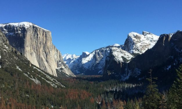 Yosemite in January