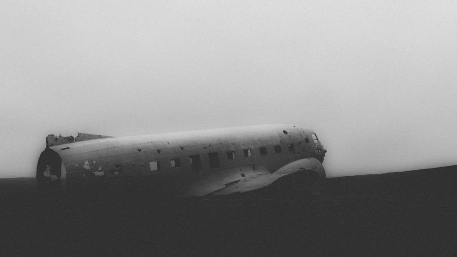 Iceland Plane Wreckage